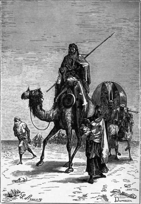 Benjamin of Tudela in the Desert of Sahara