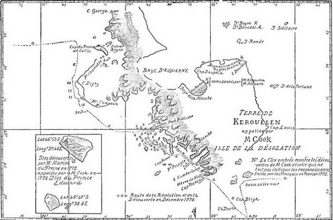 Island discovered by M. Marion du Fresnes in 1772