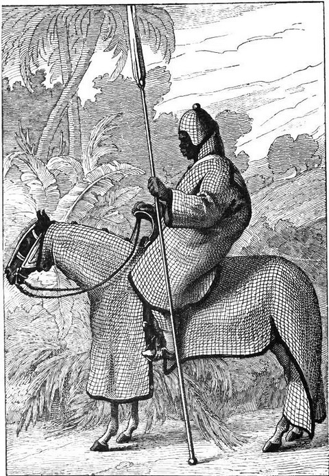 Lancer of the army of the Sultan of Begharmi