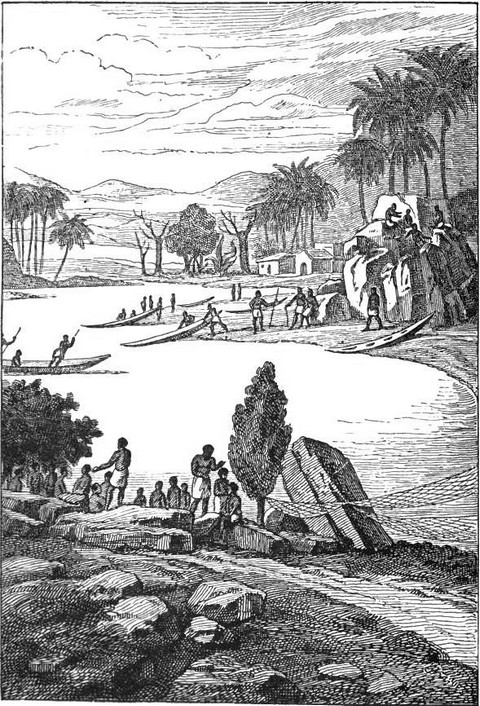 View on the banks of the Congo